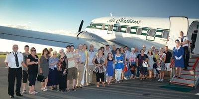 Air Chathams: Mile High Tea