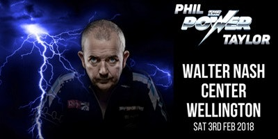 Phil Taylor Exhibition