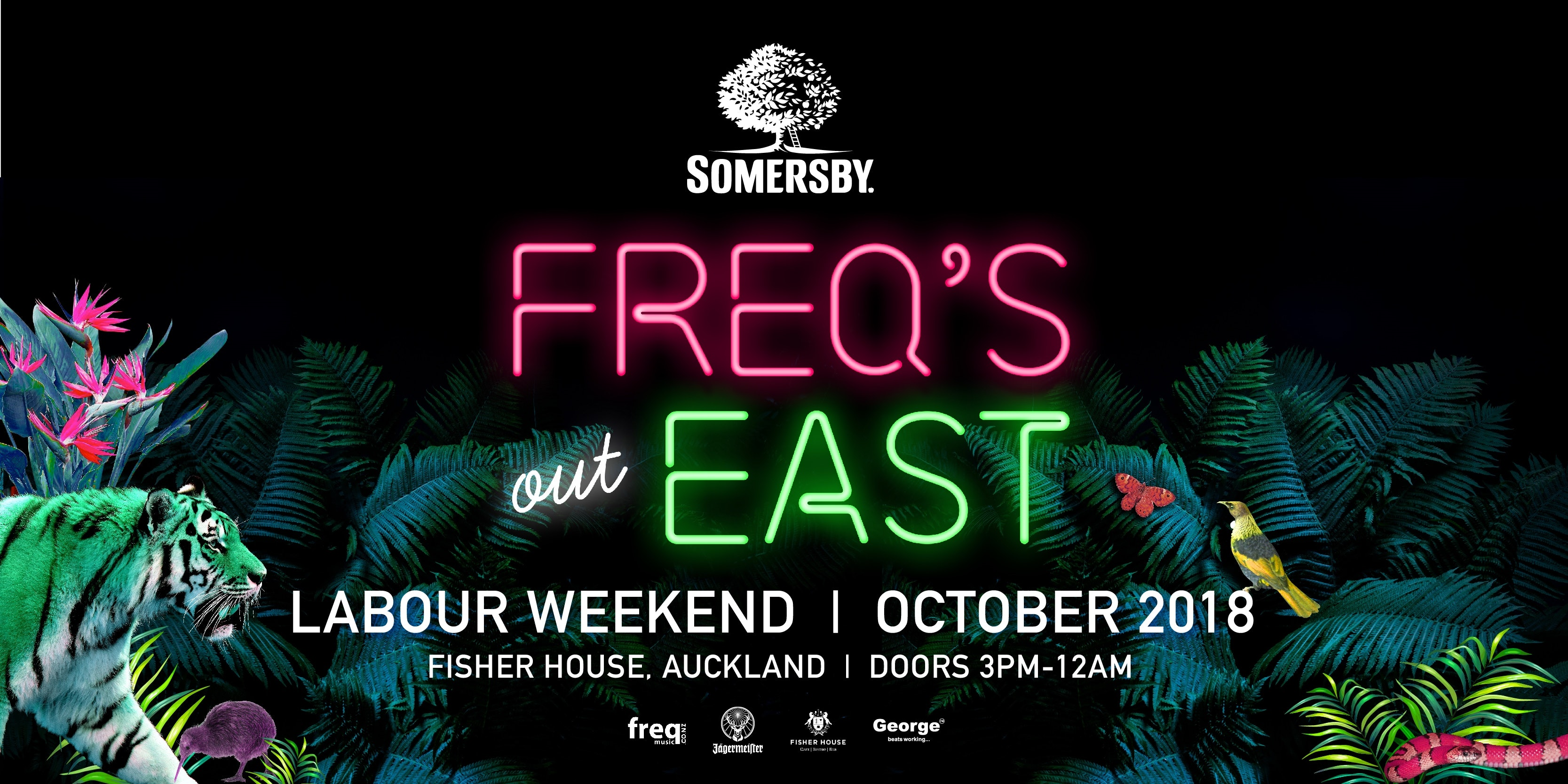 Somersby FREQ'S out EAST