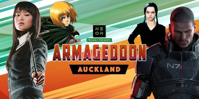 Armageddon Expo - VIP Passes