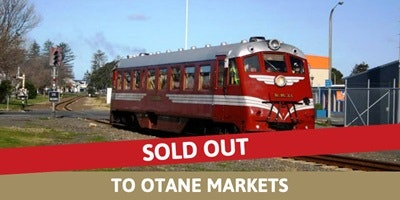 Railcar Sunday to Otane Market