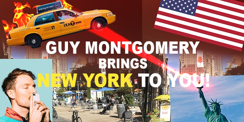 Guy Montgomery Brings New York To You
