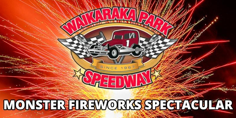 Waikaraka Park - Monster Fireworks Spectacular