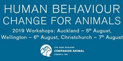 Human Behaviour Change for Animals Workshop