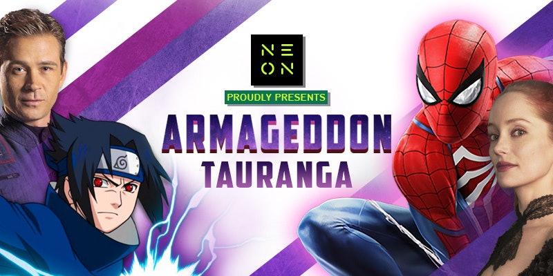 Armageddon Expo Tauranga - VIP Pass