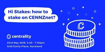 Hi Stakes: how to stake on CENNZnet?