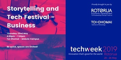 Storytelling and Tech Festival - Business