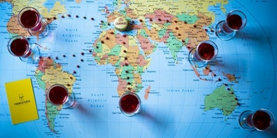 Around the World in Eight Negronis