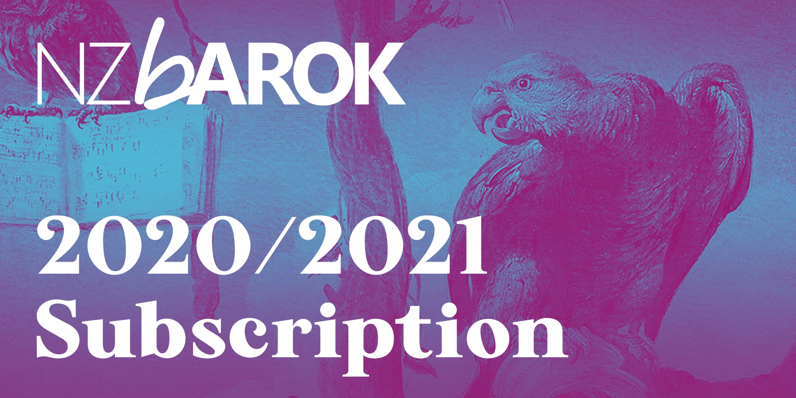 NZ Barok Subscription