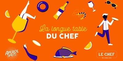 La Longue Table du Chef