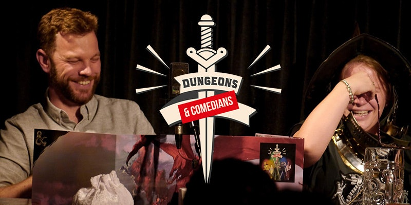 Dungeons & Comedians: The Movie: Live!