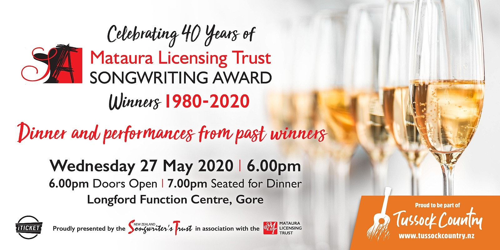 MLT Songwriting Awards 40th Anniversary Event