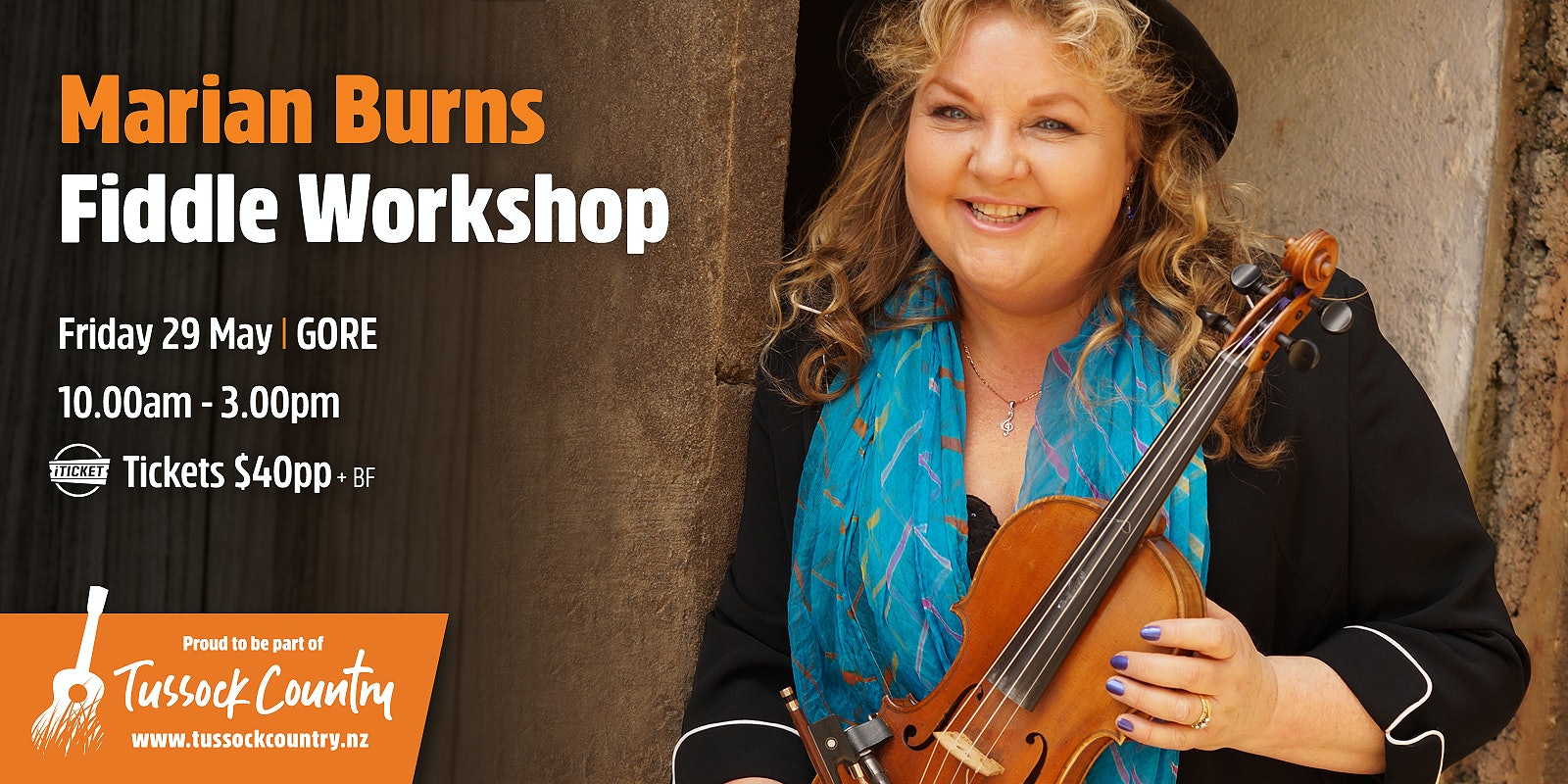 Marian Burns Fiddle Workshop