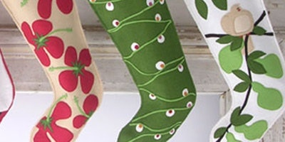 DECORATIVE FELT CHRISTMAS STOCKINGS