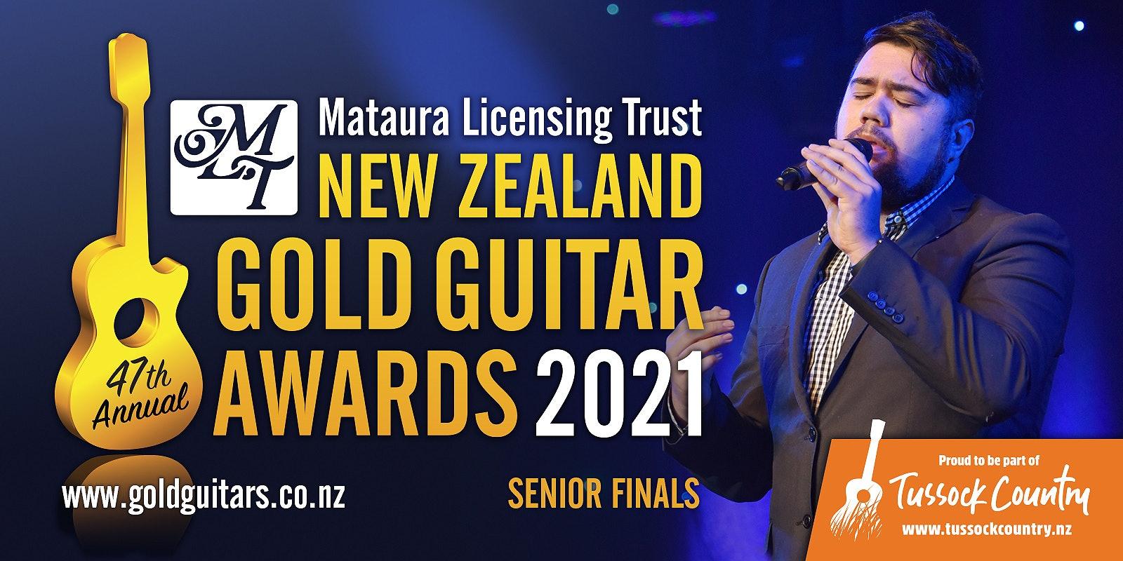 MLT NZ Gold Guitar Awards - Senior Finals