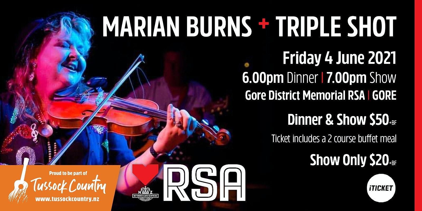 Marian Burns + Triple Shot