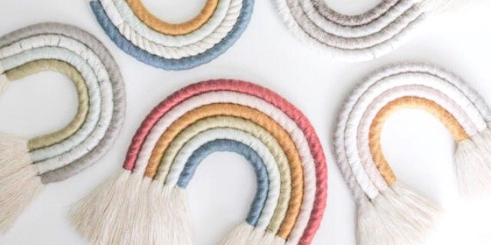 Hue-dini: Magical Rainbow Wall Hanging