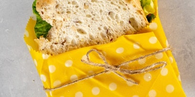 Beeswax Lunch Bag