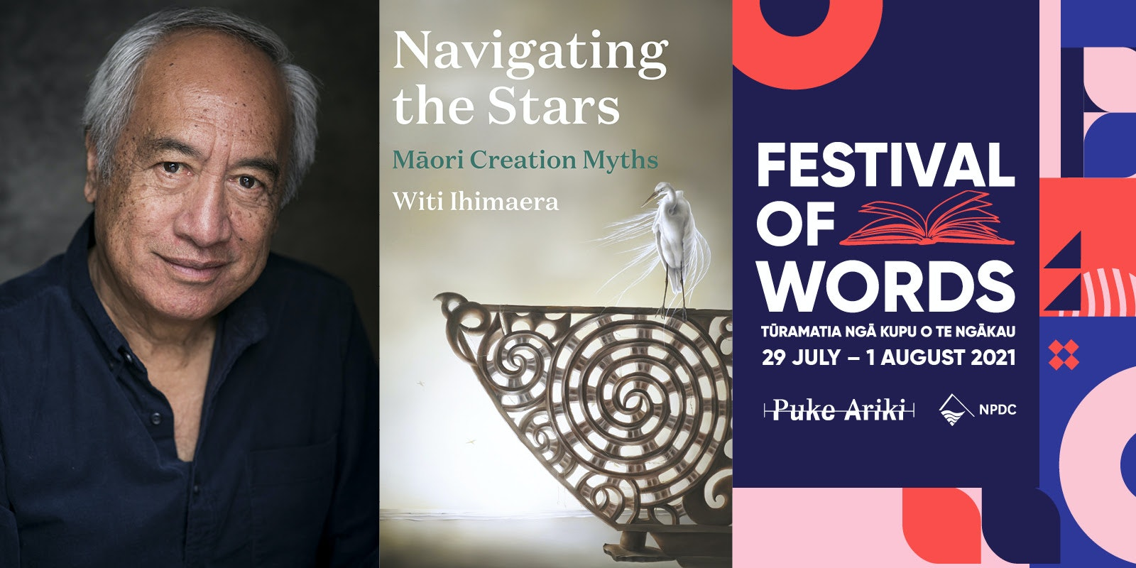 An Evening with Witi Ihimaera and Kingsley Spargo