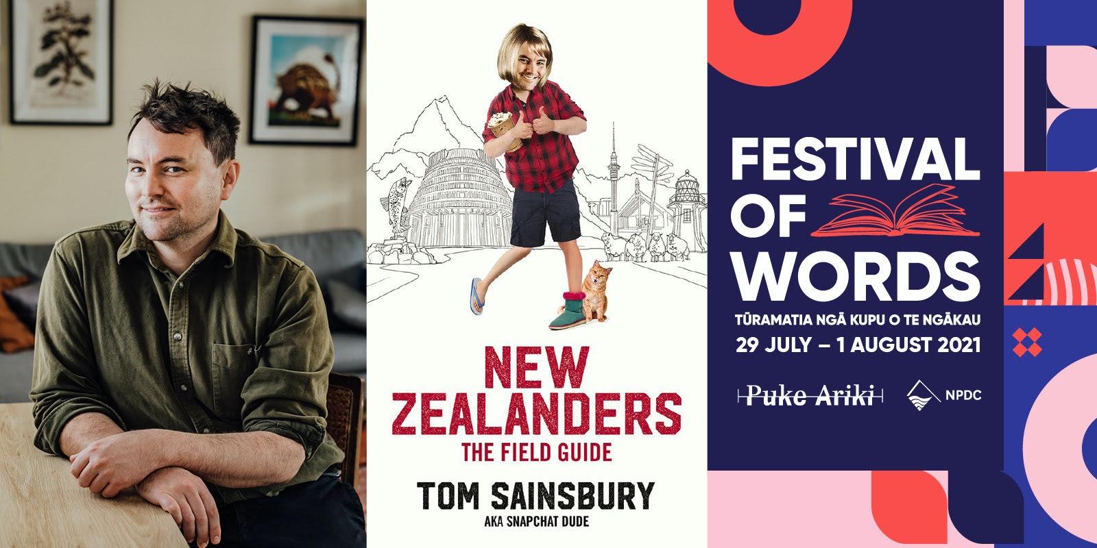 Tom Sainsbury - New  Zealanders: The Field Guide
