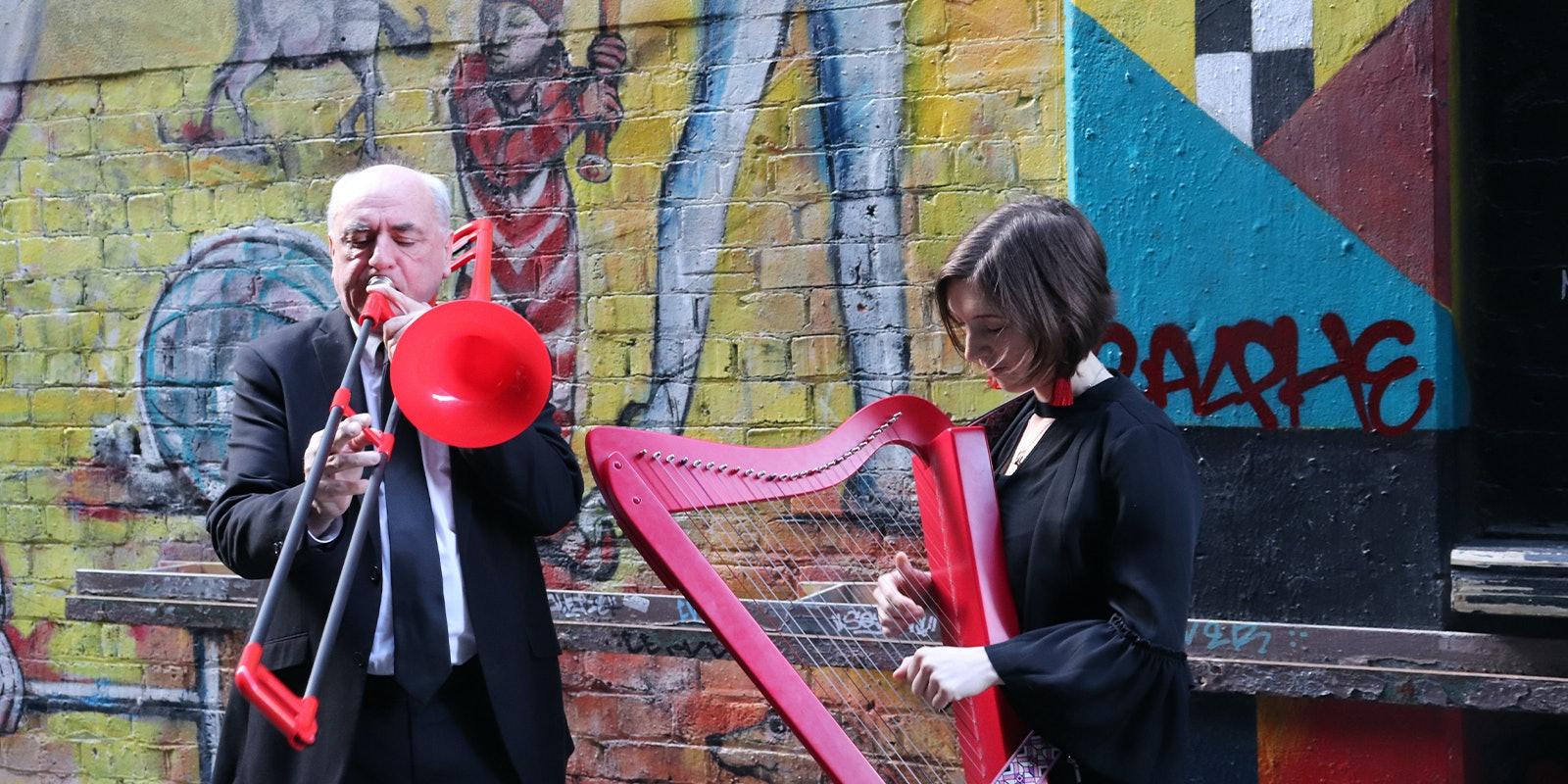 Trombone & Harp - Kids Show!