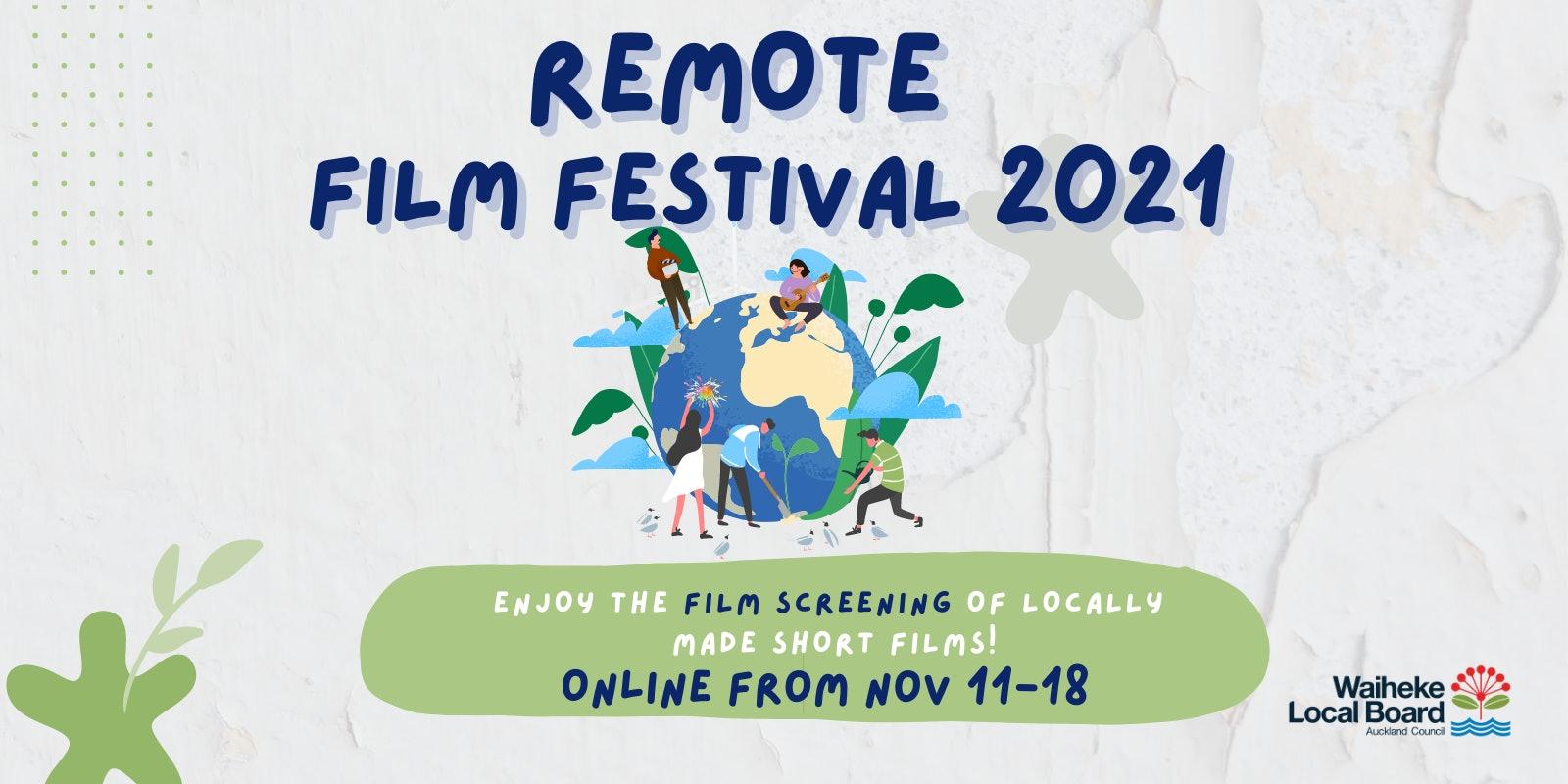 Remote Film Festival Screening