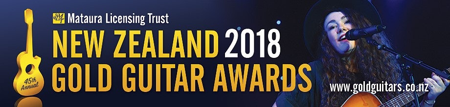 NZ GOLD GUITARS 2018