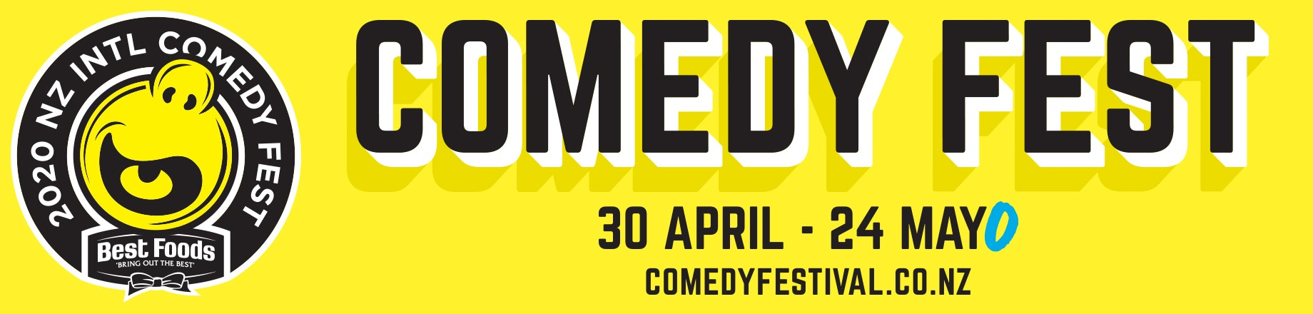 2020 NZ International Comedy Festival with Best Foods Mayo