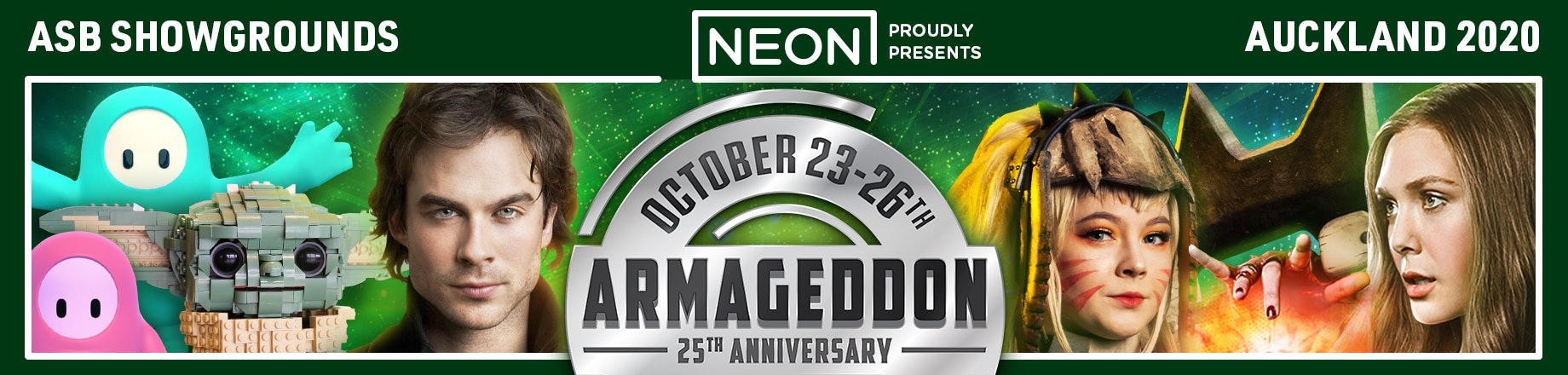 Armageddon Expo 2020 - Official Tickets