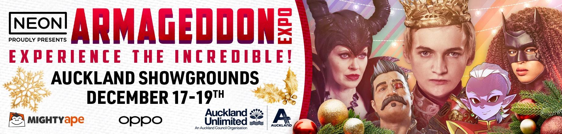Armageddon Expo 2021 - Official Tickets