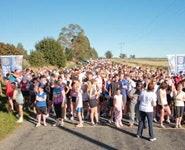10km starts at Hadlow Rd